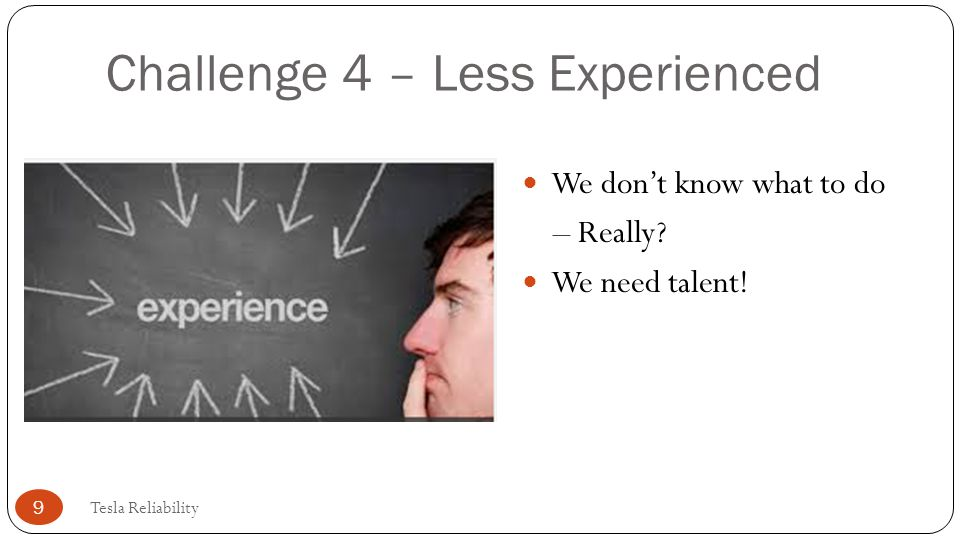 Challenge 4 – Less Experienced