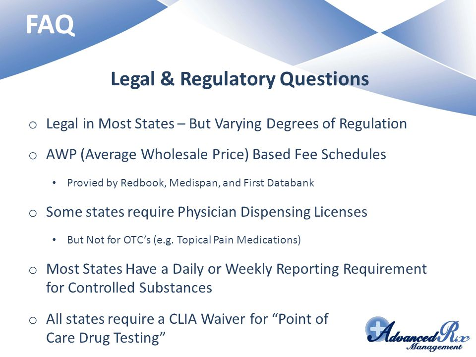 Legal & Regulatory Questions