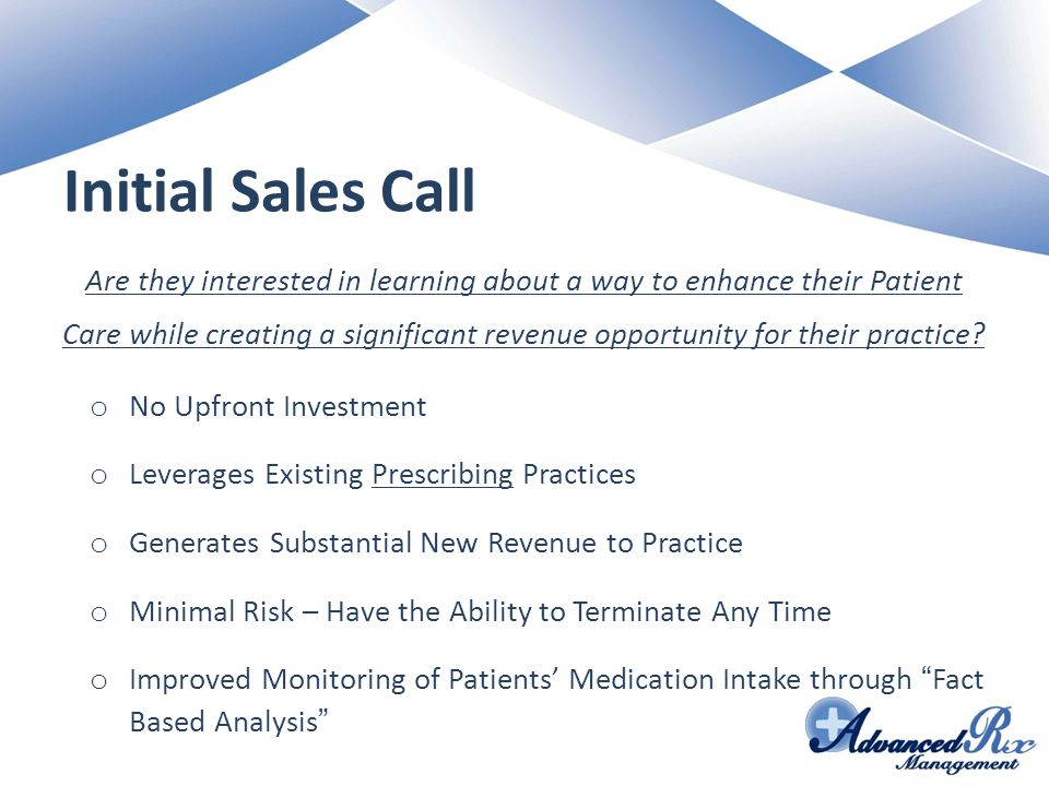 Initial Sales Call