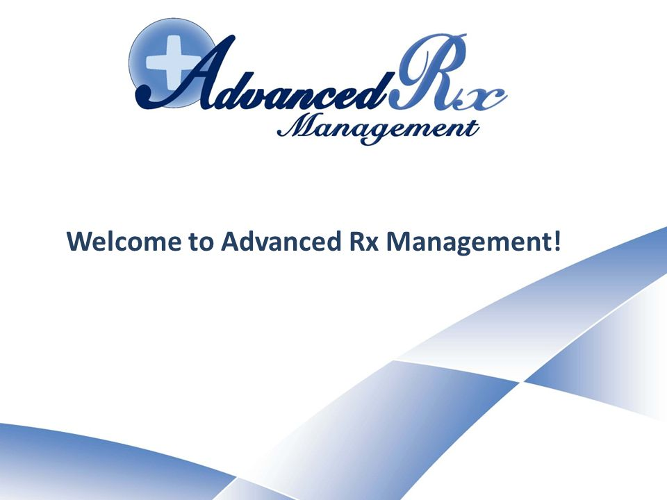 Welcome to Advanced Rx Management!