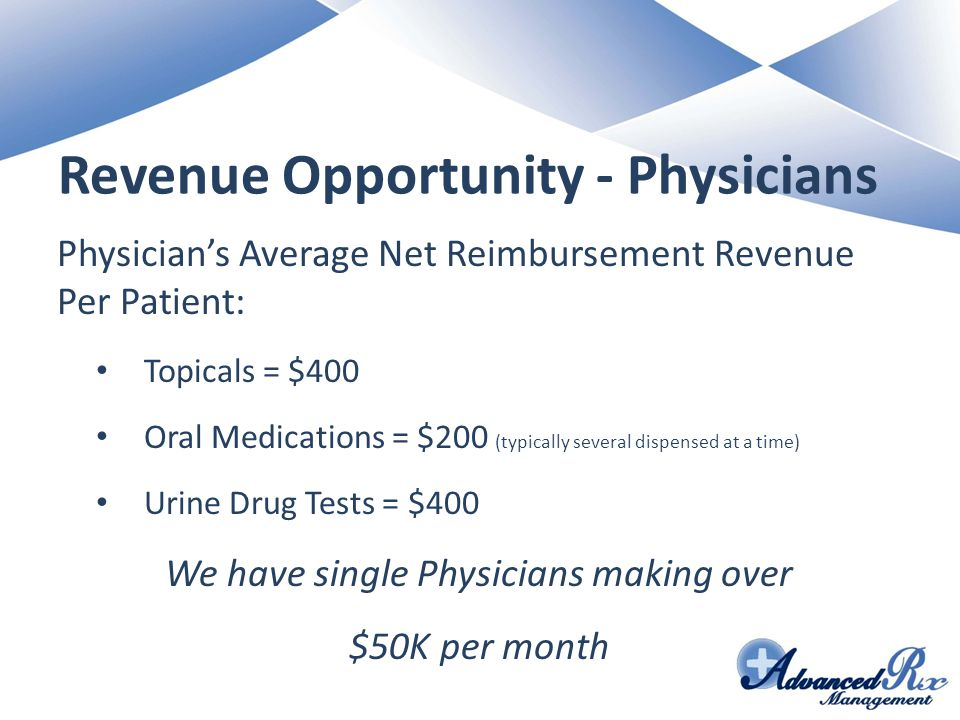 Revenue Opportunity - Physicians