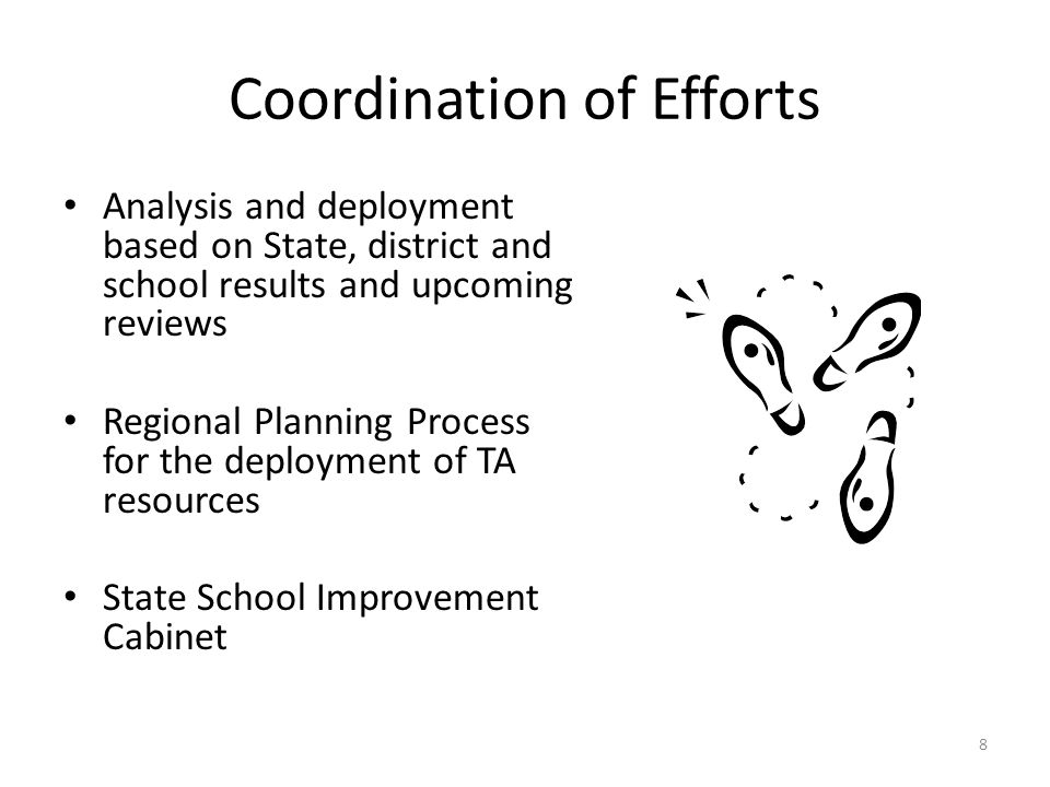 Coordination of Efforts