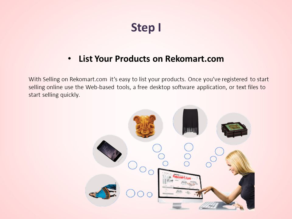 List Your Products on Rekomart.com