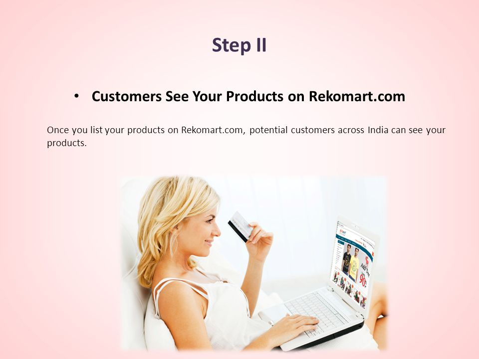 Customers See Your Products on Rekomart.com