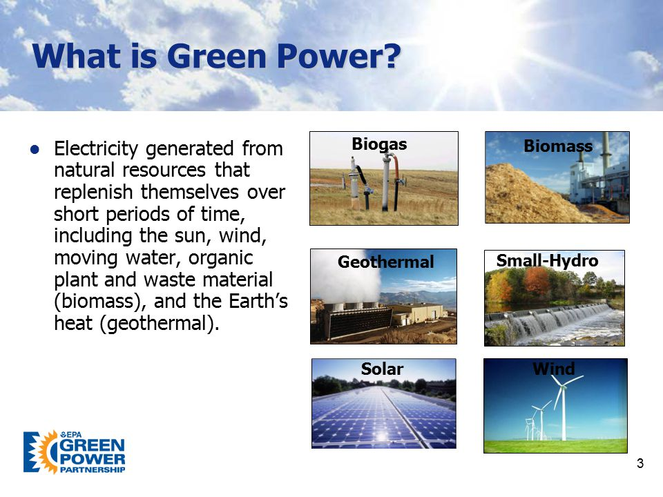 What is Green Power