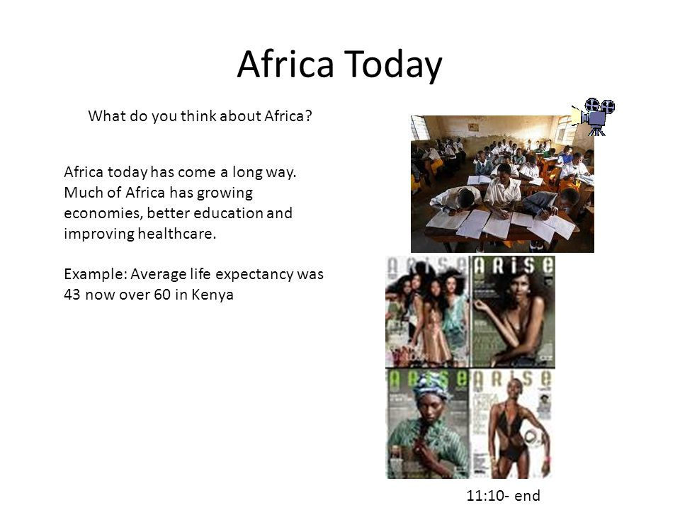 Africa Today What do you think about Africa