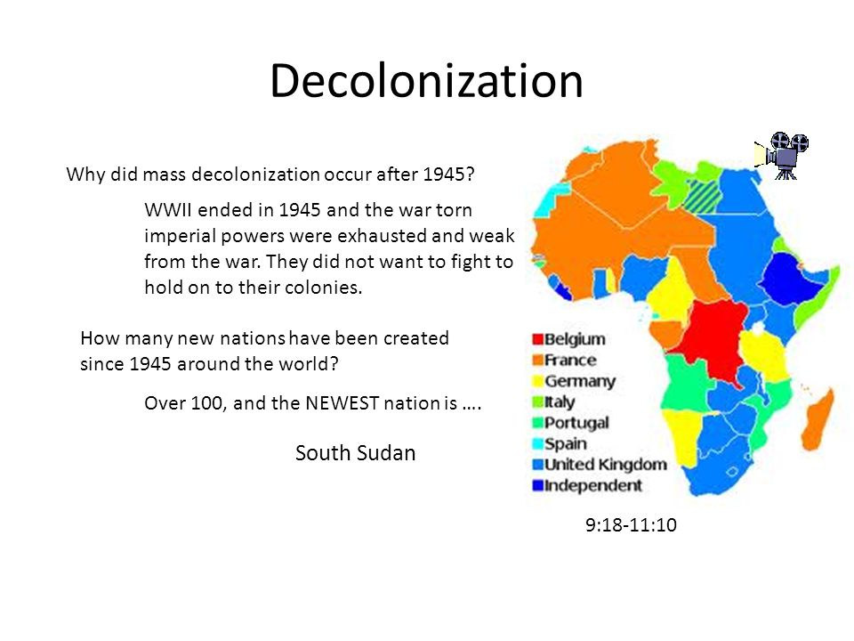 did worldwide decolonization after 1945 create United nations (civ5) edit  created in 1945 to maintain international peace and security,  and worldwide decolonization.