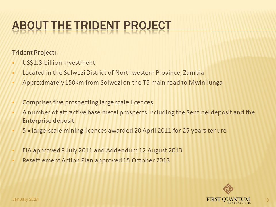 About the Trident Project