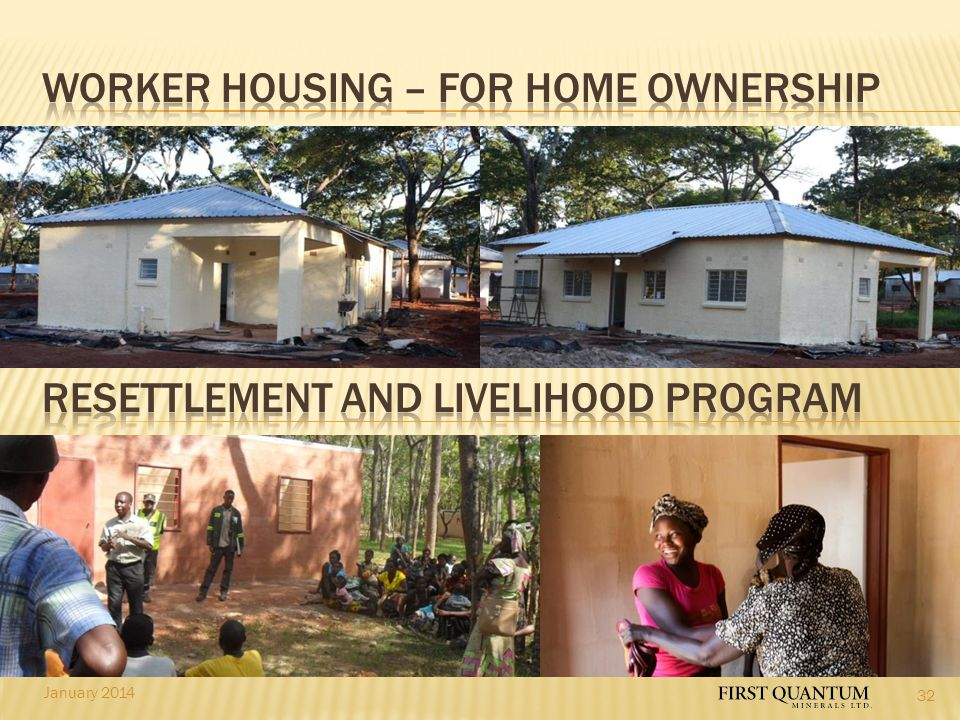 Worker housing – for home ownership
