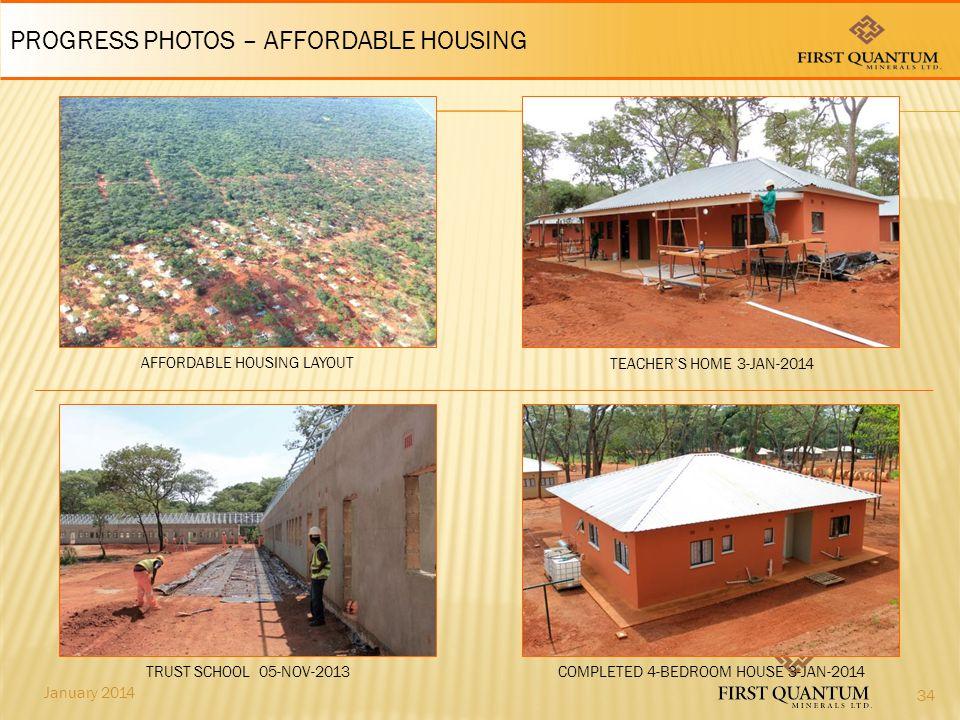 PROGRESS PHOTOS – AFFORDABLE HOUSING