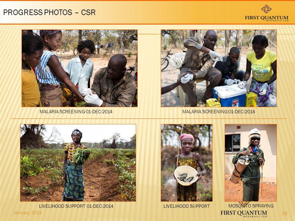 PROGRESS PHOTOS – CSR MALARIA SCREENING 01-DEC-2014