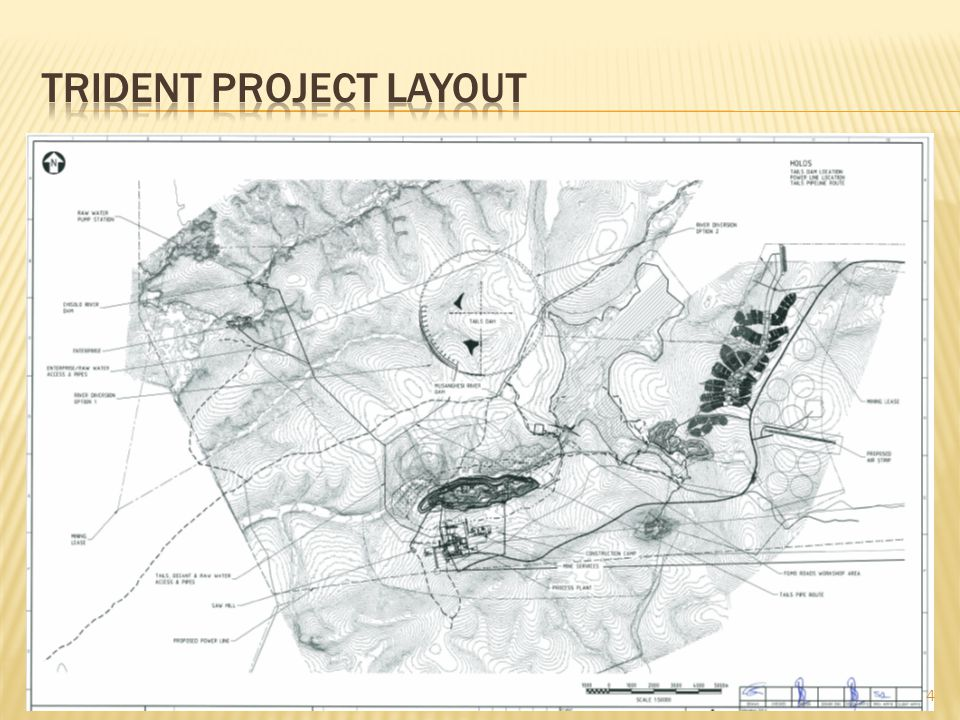 TRIDENT project layout