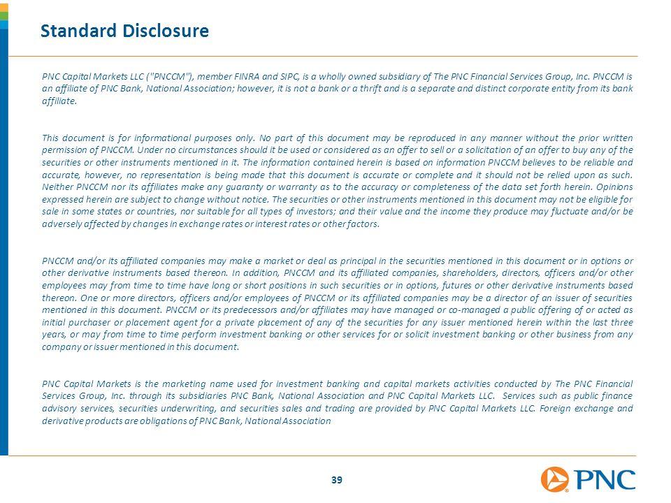 Standard Disclosure