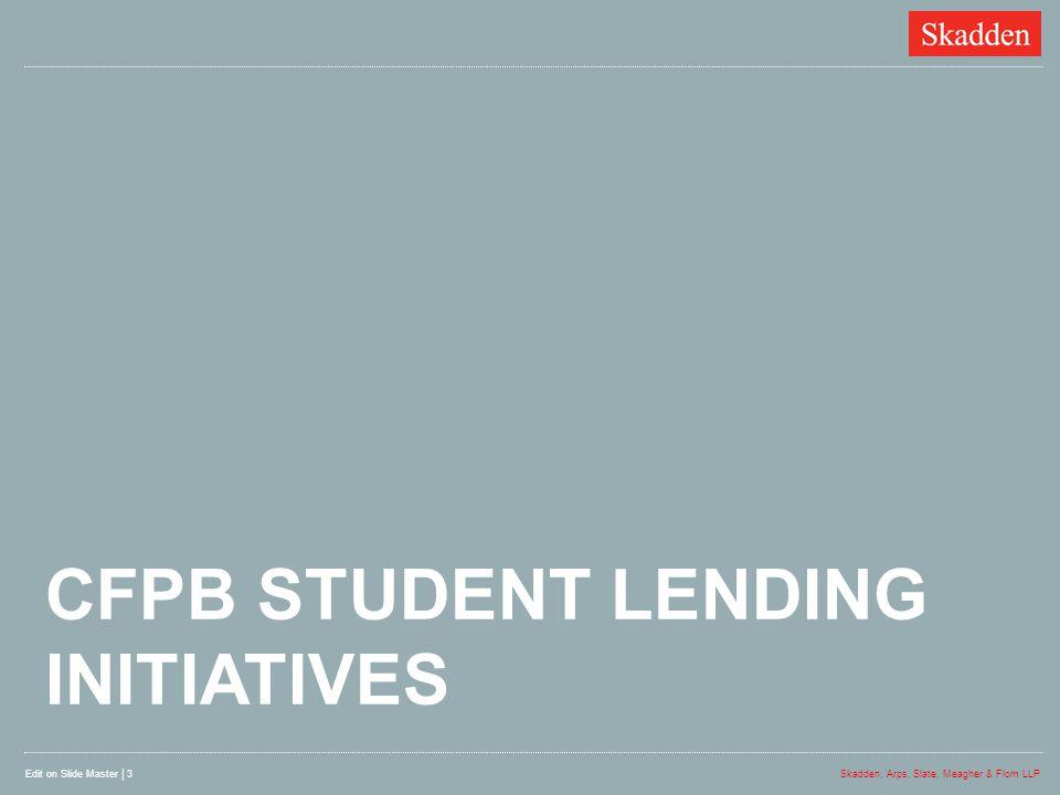 cfpb student lending initiatives