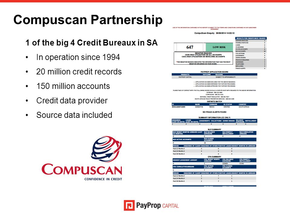 Compuscan Partnership