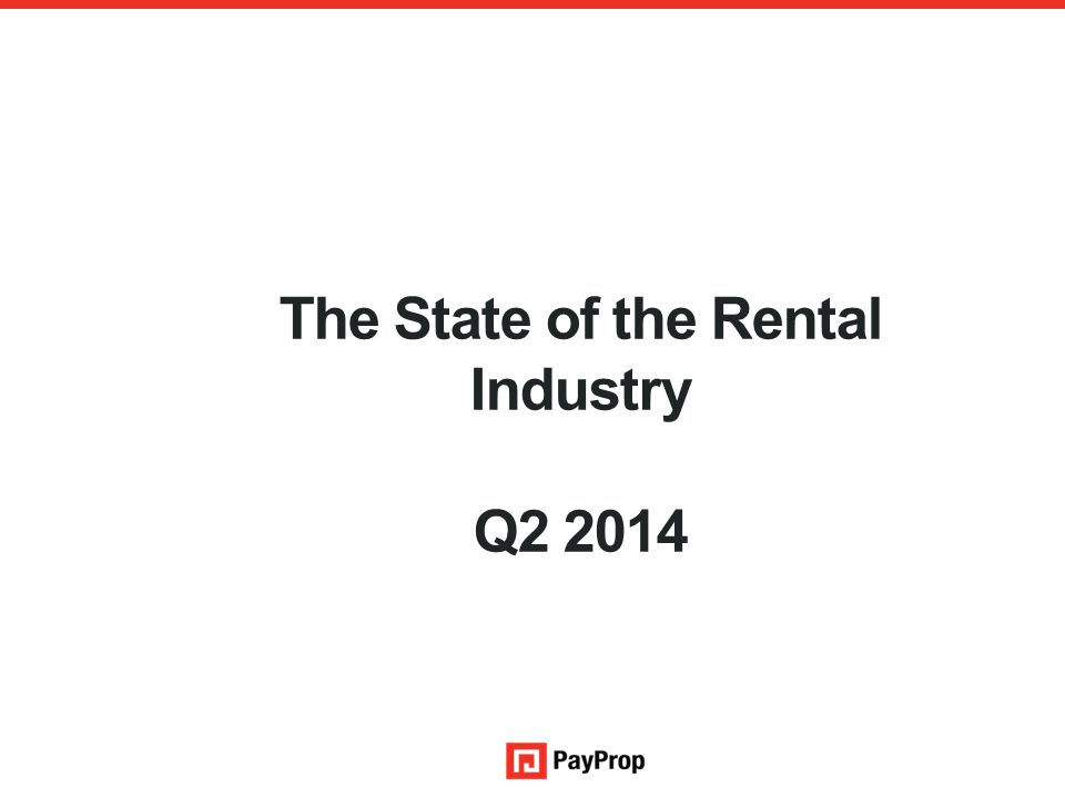 The State of the Rental Industry