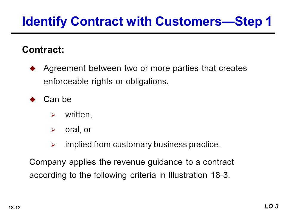 Identify Contract with Customers—Step 1