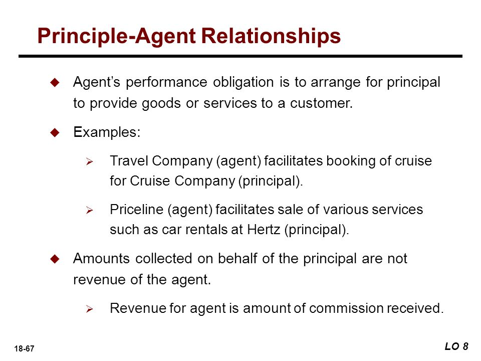 Principle-Agent Relationships