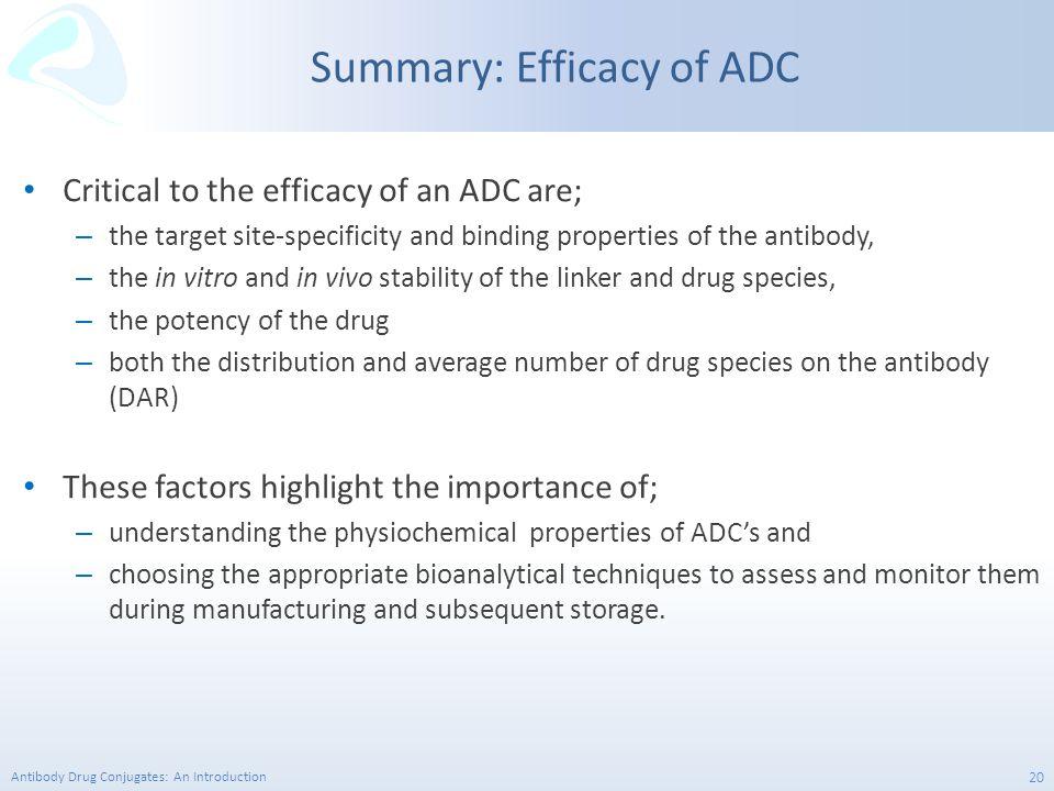 Summary: Efficacy of ADC