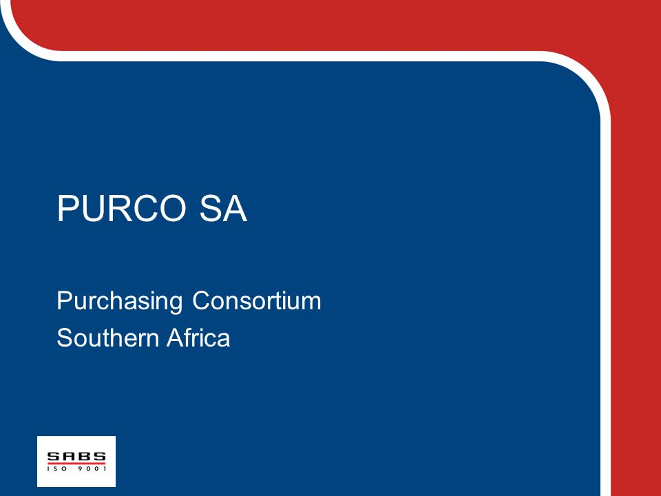 Purchasing Consortium Southern Africa