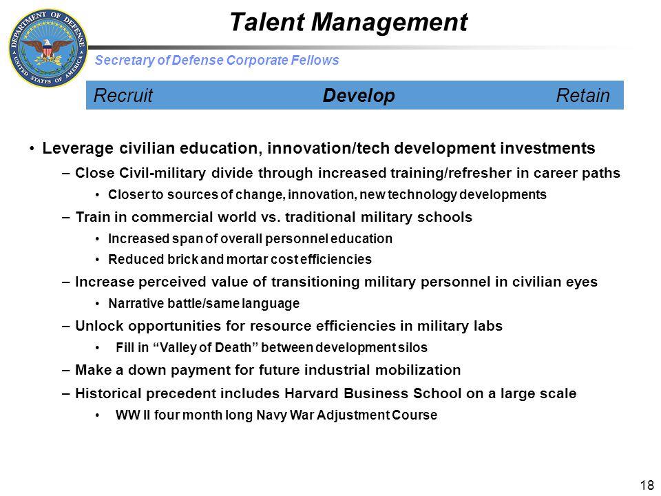 Talent Management Recruit Develop Retain