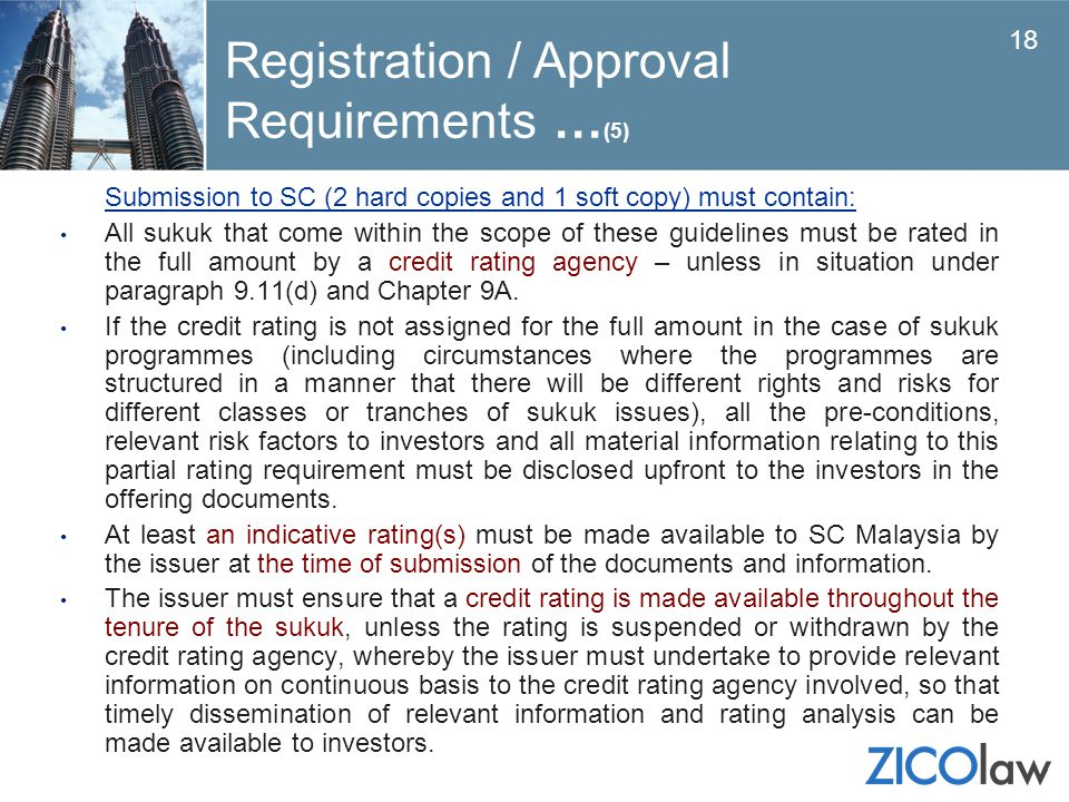 Registration / Approval Requirements …(5)