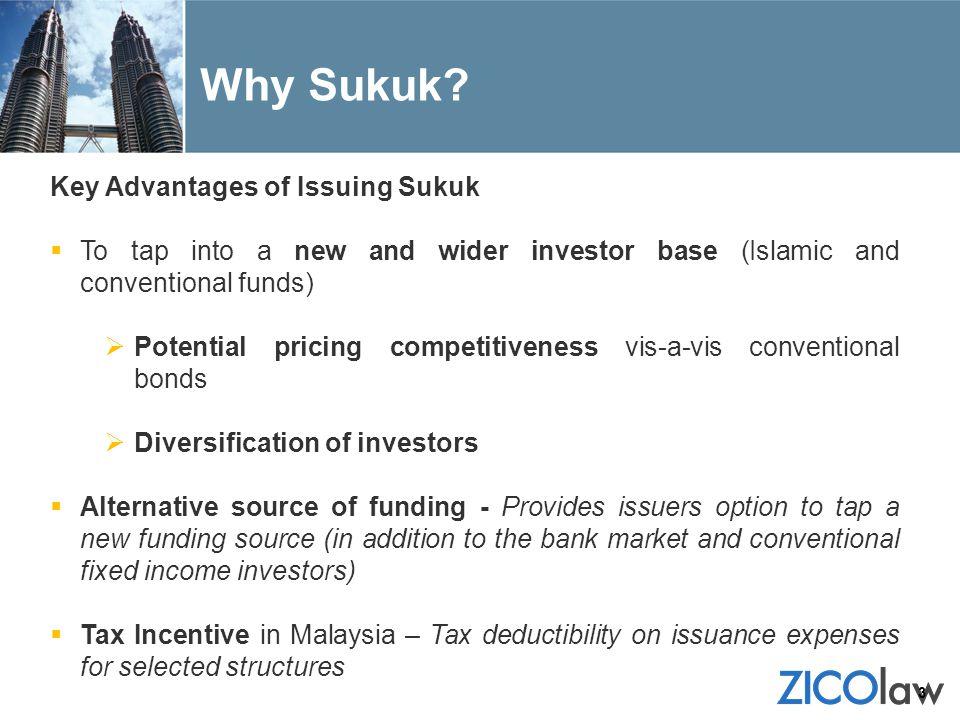 Why Sukuk Key Advantages of Issuing Sukuk