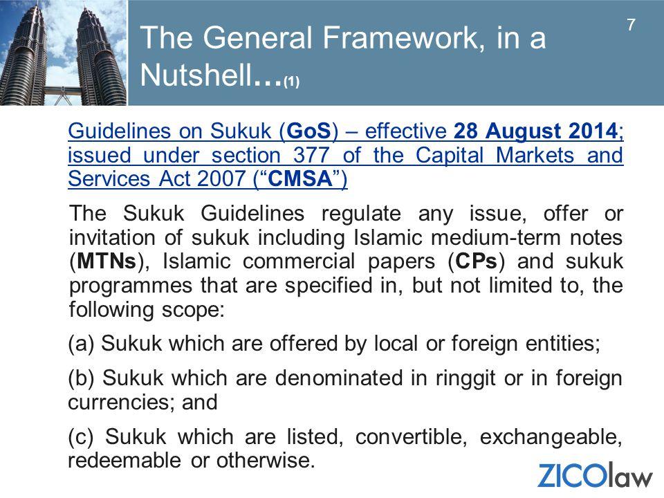 The General Framework, in a Nutshell…(1)