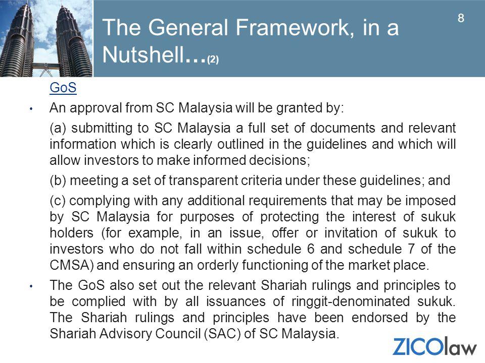 The General Framework, in a Nutshell…(2)