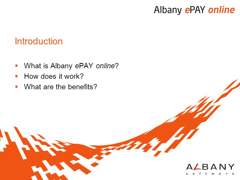 What is Albany ePAY online How does it work What are the benefits
