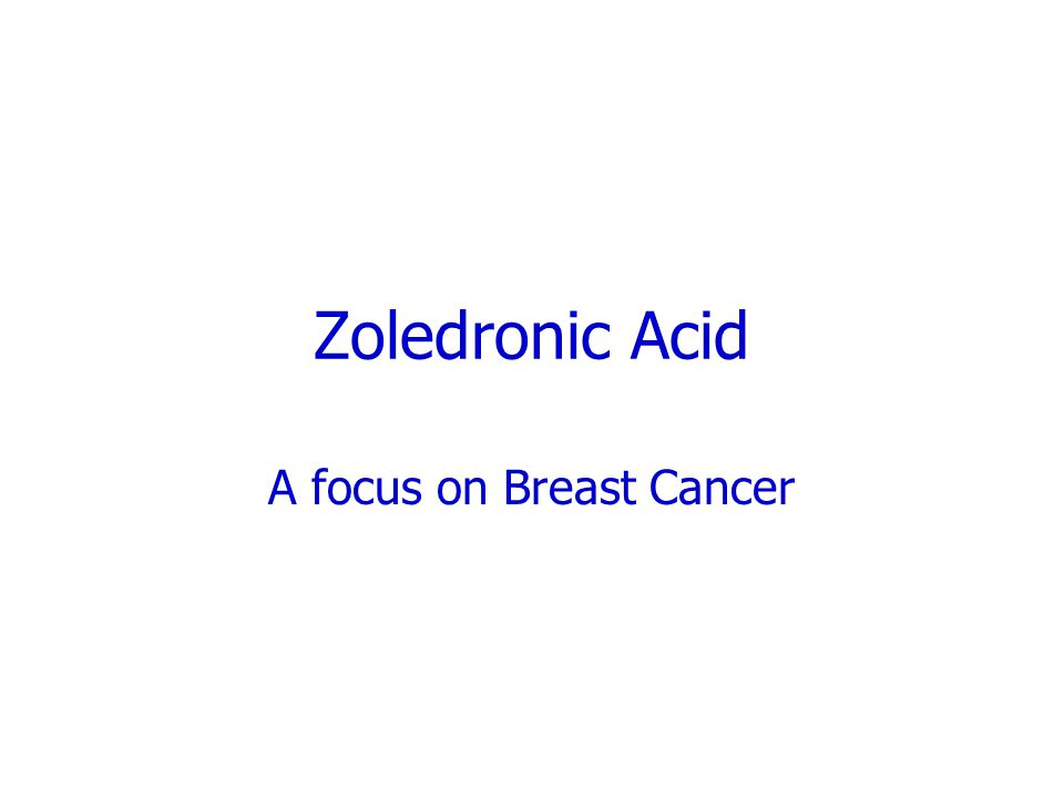 A focus on Breast Cancer