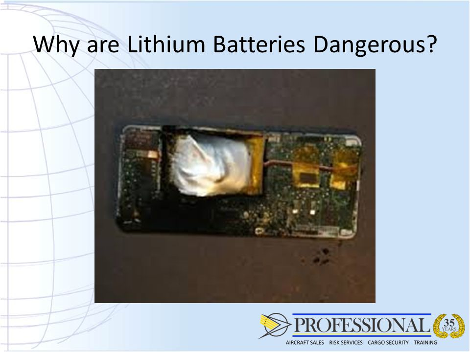 Why are Lithium Batteries Dangerous