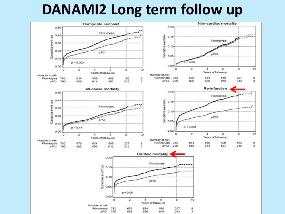DANAMI2 Long term follow up