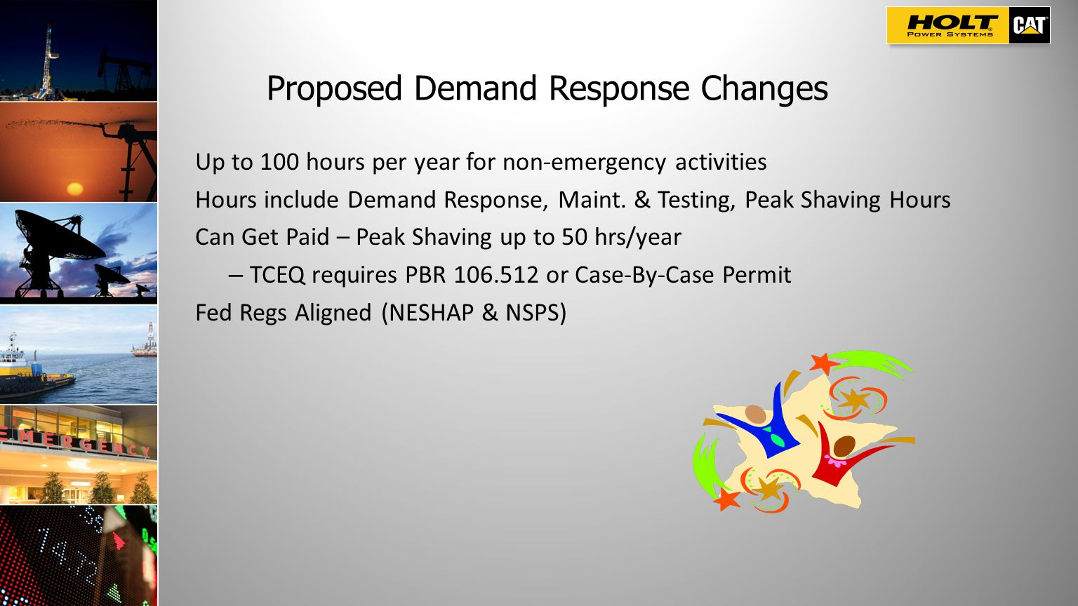 Proposed Demand Response Changes