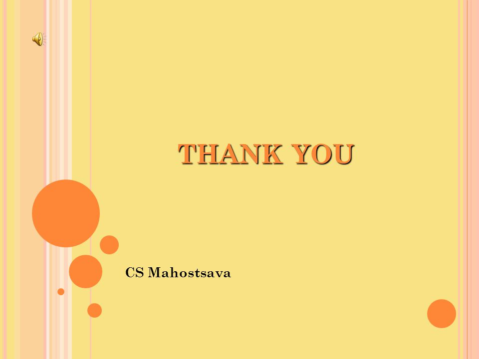 THANK YOU CS Mahostsava
