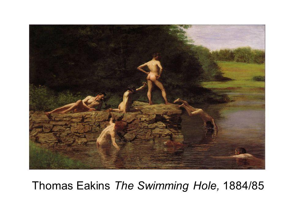Thomas Eakins The Swimming Hole, 1884/85