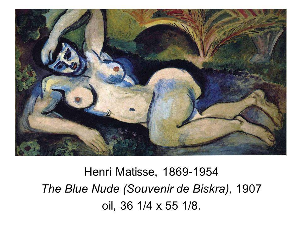 The Blue Nude (Souvenir de Biskra), 1907