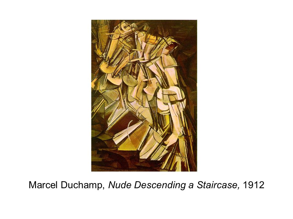Marcel Duchamp, Nude Descending a Staircase, 1912