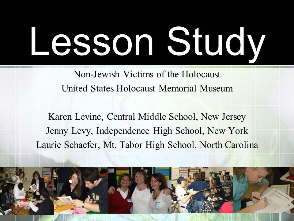 Lesson Study Non-Jewish Victims of the Holocaust