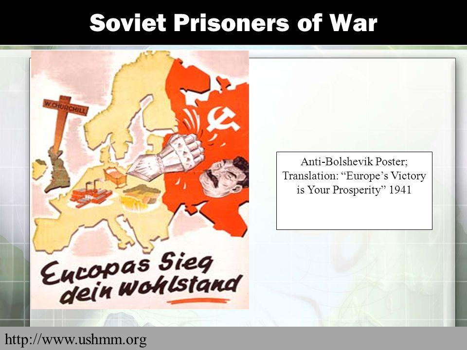 Soviet Prisoners of War
