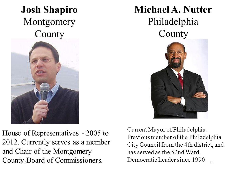 Michael A. Nutter Philadelphia County