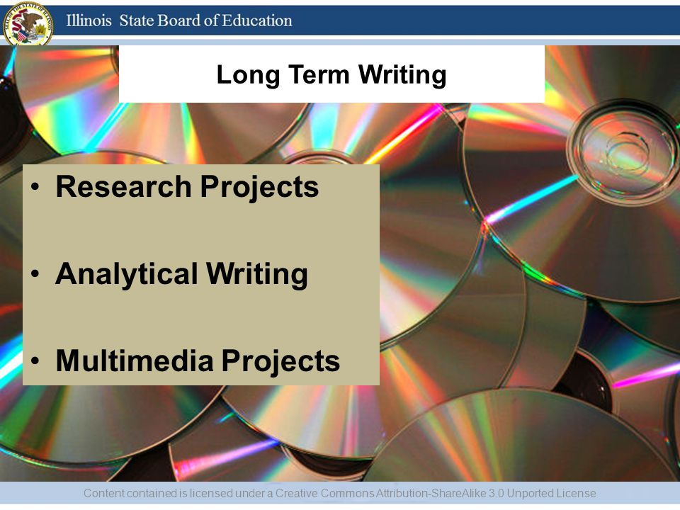Research Projects Analytical Writing Multimedia Projects