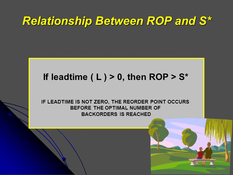 Relationship Between ROP and S*
