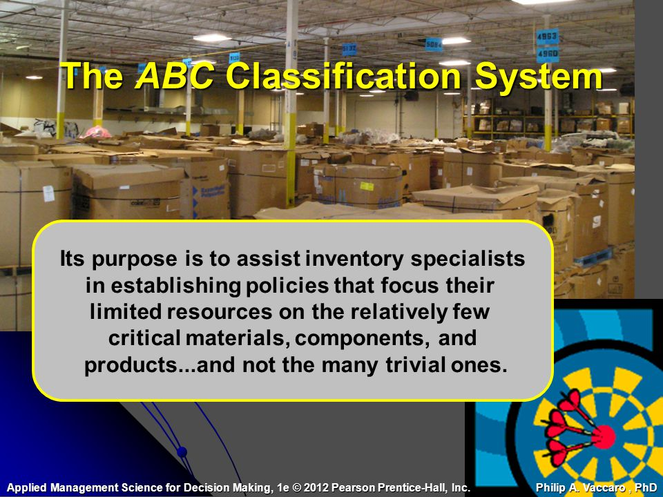 The ABC Classification System
