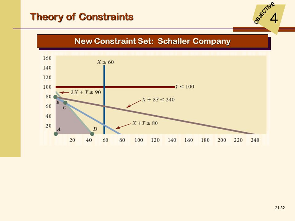 New Constraint Set: Schaller Company
