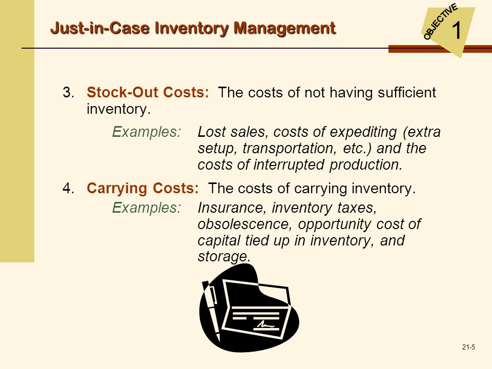 1 Just-in-Case Inventory Management