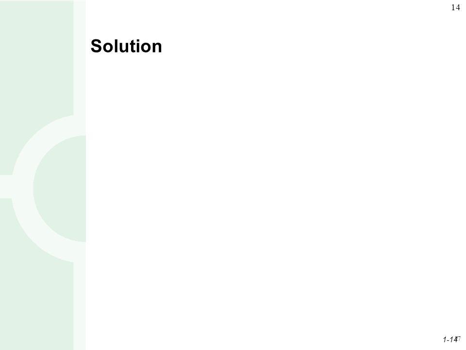 Solution 17 17