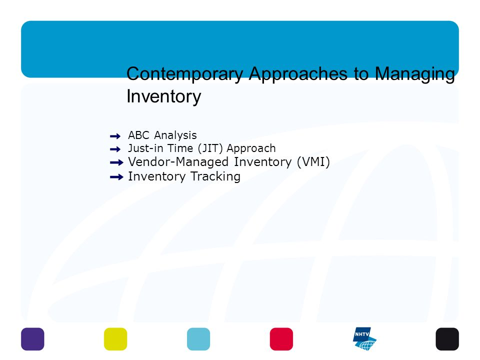 Contemporary Approaches to Managing Inventory