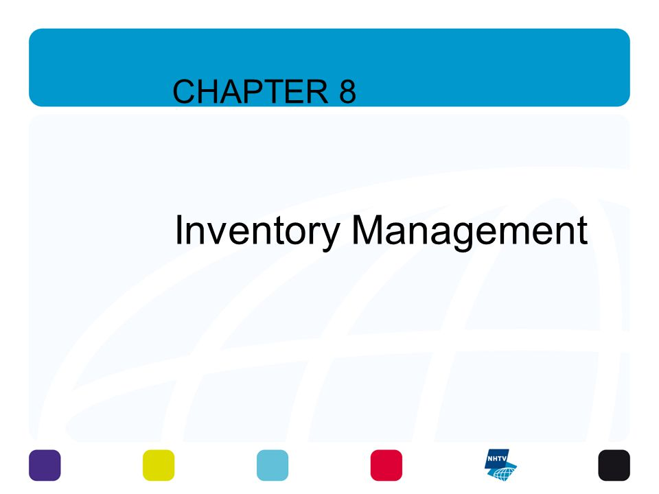 CHAPTER 8 Inventory Management 5 - 3