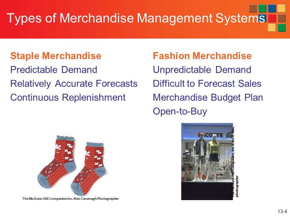 Types of Merchandise Management Systems